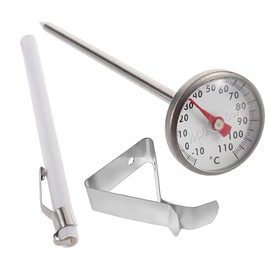 Термометр механический с держателем (щуп 12 см)